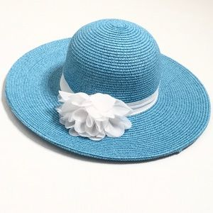 $15 SALE! Charming Charlie | Blue Straw Hat